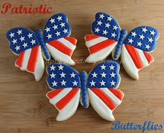 Simply Sweets by Honeybee: Patriotic Butterflies {Tutorial}