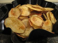The Wife Life: Chip Off the Ol' Block - Homemade Potato Chips