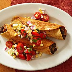 Mole Pork Flautas From Better Homes and Gardens, ideas and improvement projects for your home and garden plus recipes and entertaining ideas.