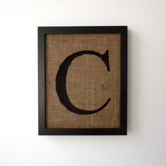 draft diy with spray paint, a stencil and burlap - would look so cute on a frame wall.