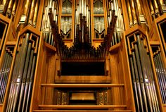 Bates Recital Hall in the Butler School of Music houses the country's largest tracker organ. Based on an 18th century Dutch design, the Visser-Rowland organ is three stories tall, weighs 24 tons and has 5,315 pipes.