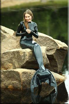 Mermaid by catsuitmodel on deviantART