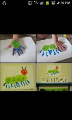 Make your own Hungry Caterpillar!