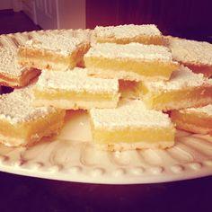My Favorite Recipes: Lemon Bars