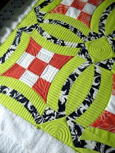 "Sew Kind Of Wonderful: Quilting ~ ""Urban Nine Patch"" 