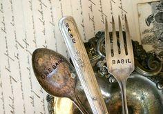 Old forks > Garden markers.