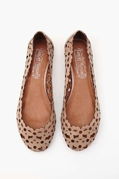 Daisy Mae Flat in Shoes Flats at Nasty Gal. I think they're pretty cute.