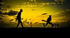 Cricket on Goa Beaches... by Jaideep Mann