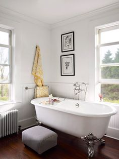 Farmhouse bathroom.