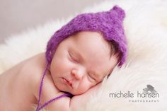Purple lacy pixie  $25.00