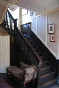 Georgian Staircases On Pinterest Dado Rail Stairs And