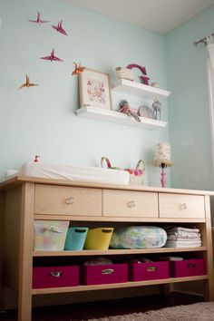 nest design studio - baby nursery - genevieve's serene space