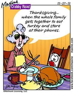 bird, maxin cartoon, famili, funni, crabbi road, humor, turkey, thanksgiving, quot