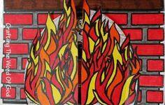 Craft for the fiery furnace and the Gold Statue in Daniel 3 abednego, sunday school, children church, cardboard boxes, gold statu, bibl craft, statues, bibl class, bible crafts