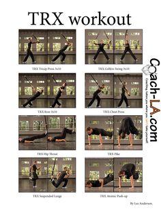 #TRX workout | coach-la.com
