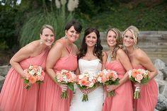Photography: Jen + Ashley - www.jenandashley.com  Read More: http://www.stylemepretty.com/2014/01/14/elegant-backyard-wedding-in-newport-news/