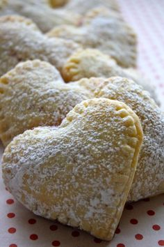 Sweetie Pies~ got leftover pie crust? Make these yummy things! Great for Valentines.