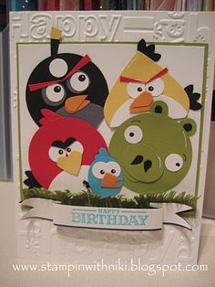 Stampin' Up! does Angry Birds