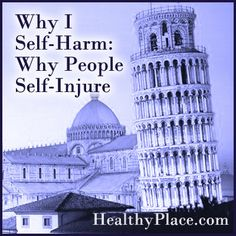 When people say, I self-harm, others want to know why people self-injure. This is natural. Read some real stories to understand why people self-mutilate.