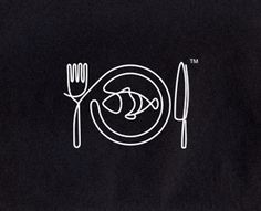 Restaurant logo by BlackMilk (via Creattica)