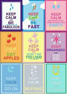 Keep Calm MLP style