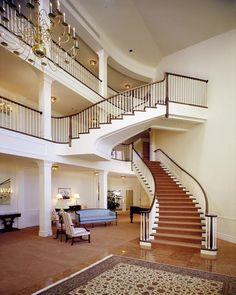 Circular Stair Design #staircase #stairs #house #home #ideas