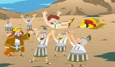 David and Goliath game is finally here for your children to enjoy!