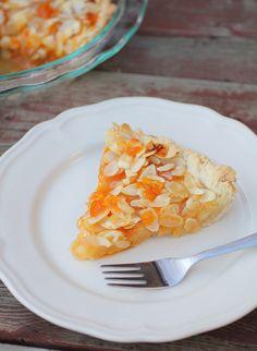 apricot almond tart by Adventuress Heart