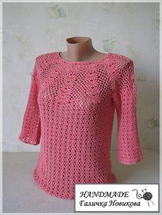 Ganchillo Camisetas y Tops> Pullover. Debate sobre LiveInternet - Servicio rusos Diarios Online