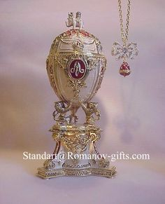 Faberge Egg with Necklace that is hidden inside - Bing Images