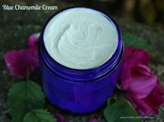 How To Make Blue Chamomile Face Cream...