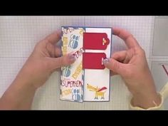 Stamping T!- Scallop Buckle Closure Card - YouTube