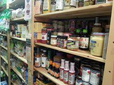 Storage pantry...shelves William Sonoma.com
