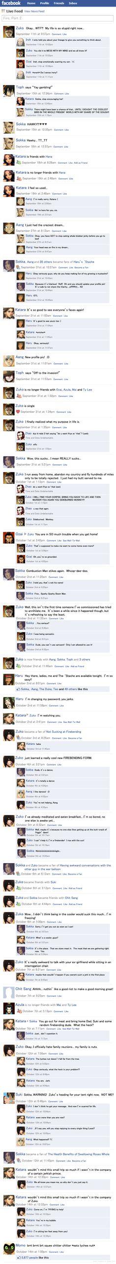 Avatar Facebook Fire Part 2