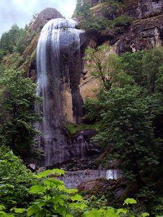 Golden & Silver Falls SP, near Coos Bay Oregon.