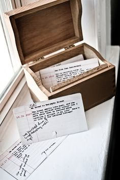 what a cute way to capture memories!