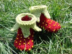 tuto chaussons fraise