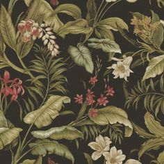 Waverly Sun N Shade Wailea Coast Ebony - Discount Designer Fabric - Fabric.com