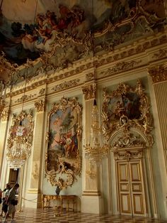 The Nymphenburg Palace was built because of a lovely romance, so why not go there to have your own?