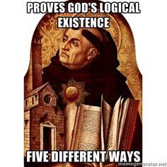 St. Thomas Aquinas.