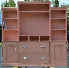Painting furniture on pinterest milk paint annie sloan for Homemakers furniture project