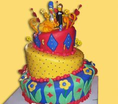 Awesome Simpson's wedding cake