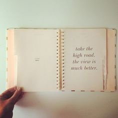 wise words as we turn the pages of our agenda to june.