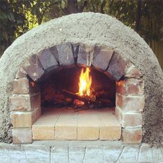 Making a pizza oven