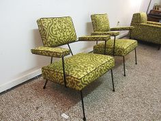 Atomic Style Chairs | Design: Adrian Pearsall - Via