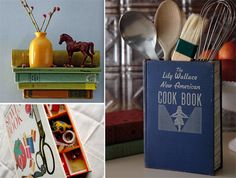 From THE REPURPOSED LIBRARY: 33 Craft Projects That Give Old Books New Life.