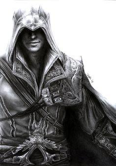 Assassin's Creed - Ezio by =D17rulez on deviantART