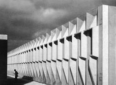 Torin Corporation Factory, Nevilles, Belgium, 1963-64, Marcel Breuer & Associates