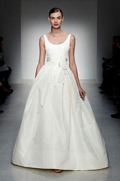 a simple stunner- Chelsea gown by Amsale