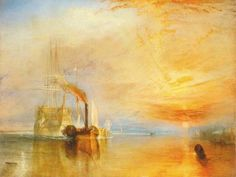 J.M.W. Turner – The The Fighting Temeraire – 1839 – The National Gallery, London